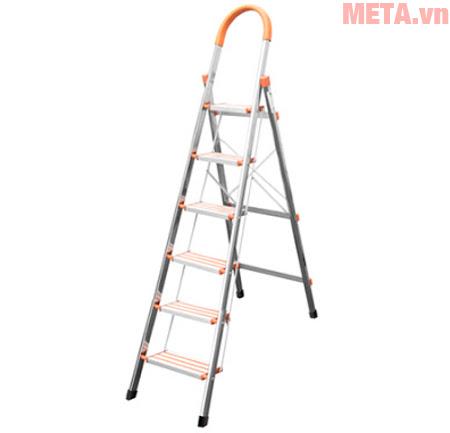 Thang ghế 5 bậc inox 6B Nikita IN06 phù hợp với nhu cầu sử dụng của gia đình