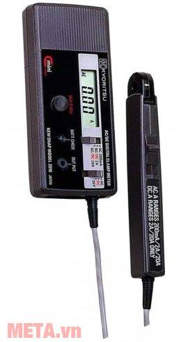 Ampe kìm Kyoritsu 2010 đo được dòng điện DC ở 2 thang đo: 2A/20A
