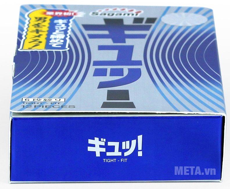 Bao cao su Sagami Tight-Fit hàng cao cấp