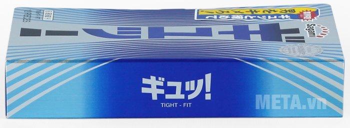Bao cao su Sagami Tight-Fit 12 chiếc không có mùi
