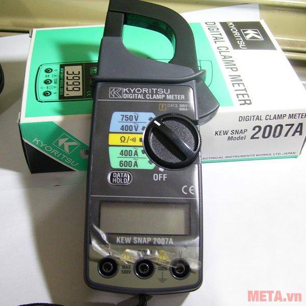 Ampe kìm Kyoritsu 2007A dùng pin