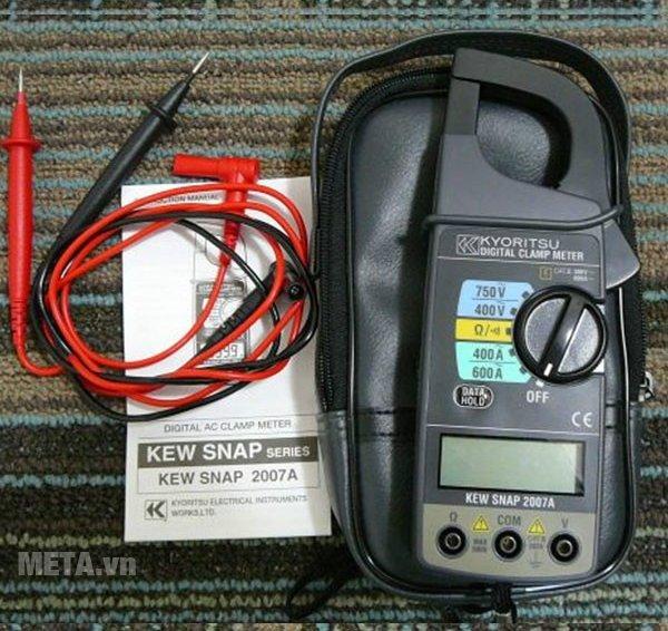 Ampe kìm Kyoritsu 2007A có túi đựng