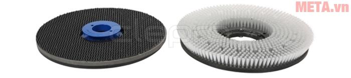 Các đầu chà của máy chà sàn - thảm công nghiệp Clepro CS17G