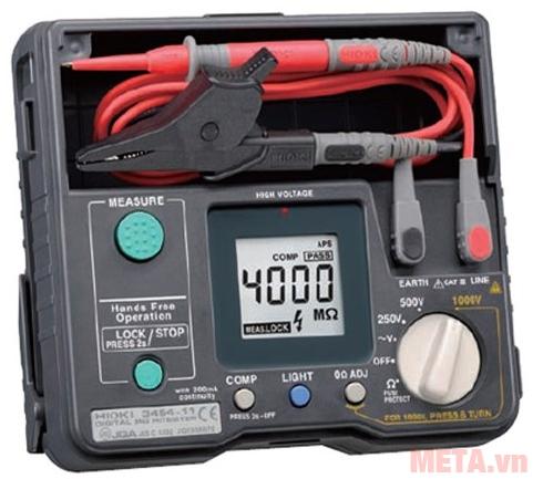 Hình ảnh máy đo điện trở cách điện Hioki 3454-11