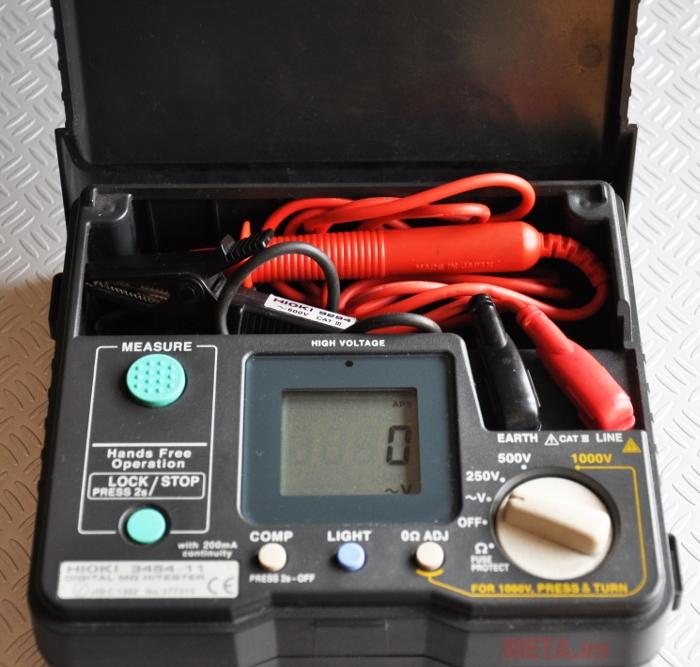 Máy đo điện trở cách điện có độ chính xác cao