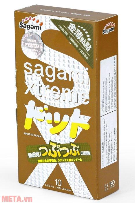 Bao cao su Sagami Xtreme Feel Up có gai