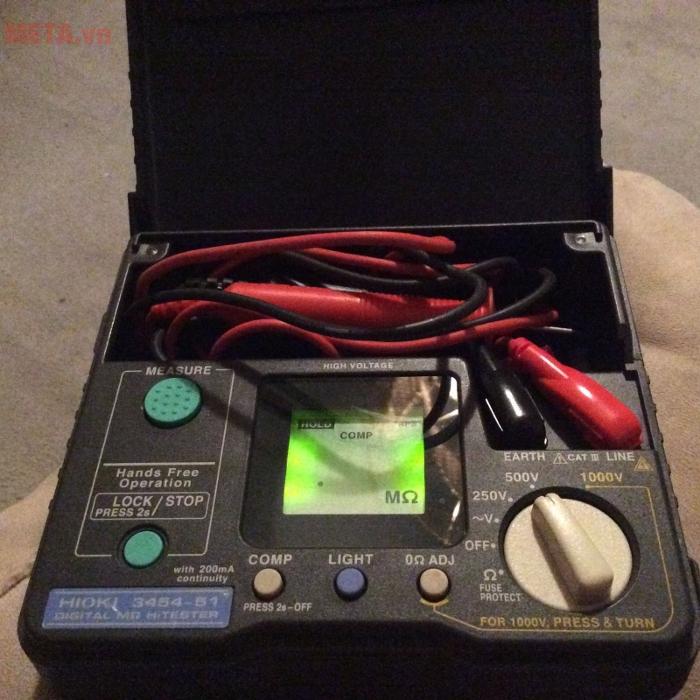 Đồng hồ đo điện trở cách điện Hioki 3454-51