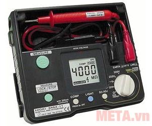 Thiết bị đo điện trở tiện dụng dễ dàng sư dụng với độ chính xác cao