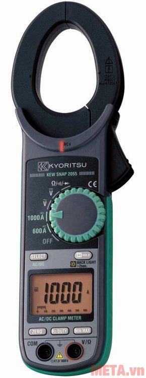 Ampe kìm Kyoritsu 2055 có đường kính đầu kìm 40mm