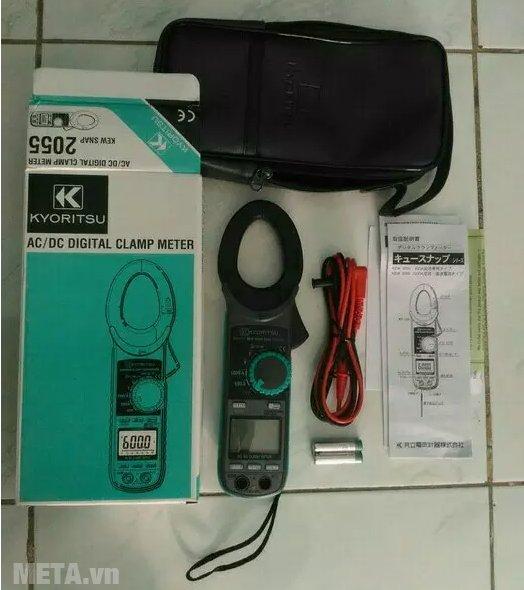 Ampe kìm Kyoritsu 2055 dùng đo dòng điện ac/dc