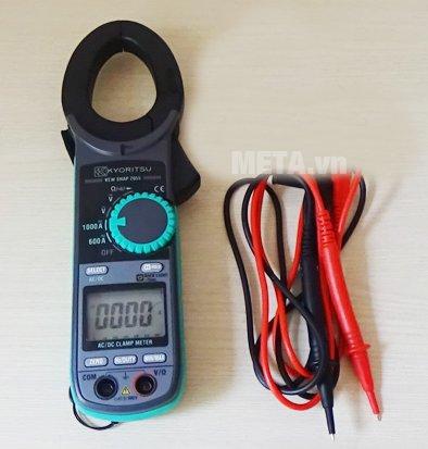Ampe kìm Kyoritsu 2055 có trọng lượng 310g