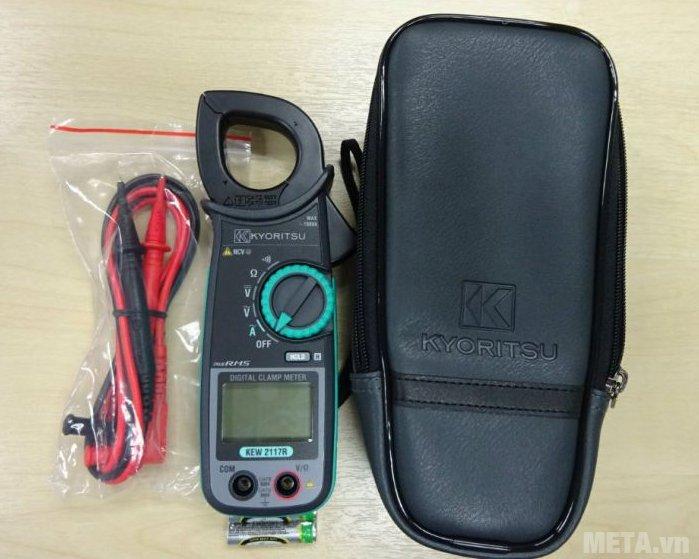 Ampe kìm Kyoritsu 2117R có đường kính đầu kìm tối đa 33mm