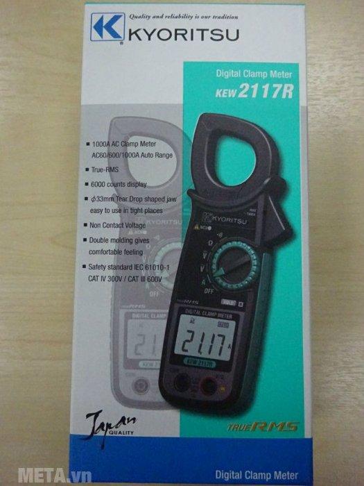 Ampe kìm Kyoritsu 2117R hàng Thái Lan