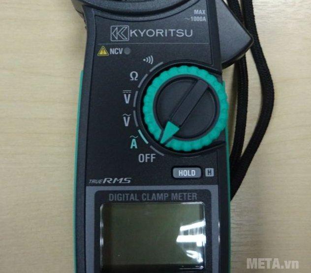 Ampe kìm Kyoritsu 2117R trang bị màn hình LCD