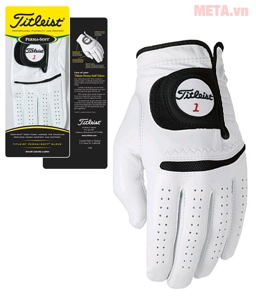 Hình ảnh găng tay golf nam Titleist Perma Soft 6582E