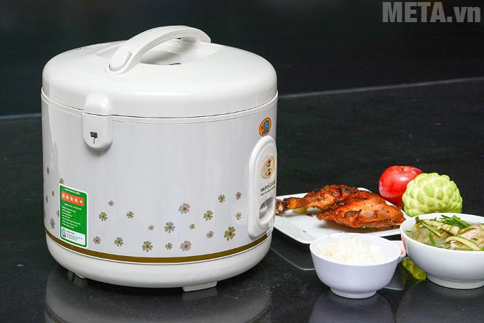 Happy Cook HC-300 có thiết kế đẹp mắt, hiện đại