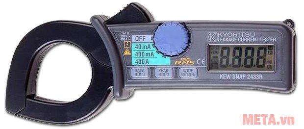 Ampe kìm Kyoritsu 2433R đo dòng AC lên tới 400A