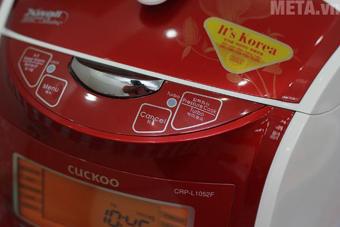 Nồi cơm Cuckoo CRP-L1052F hoạt động đa năng với 10 chức năng nấu