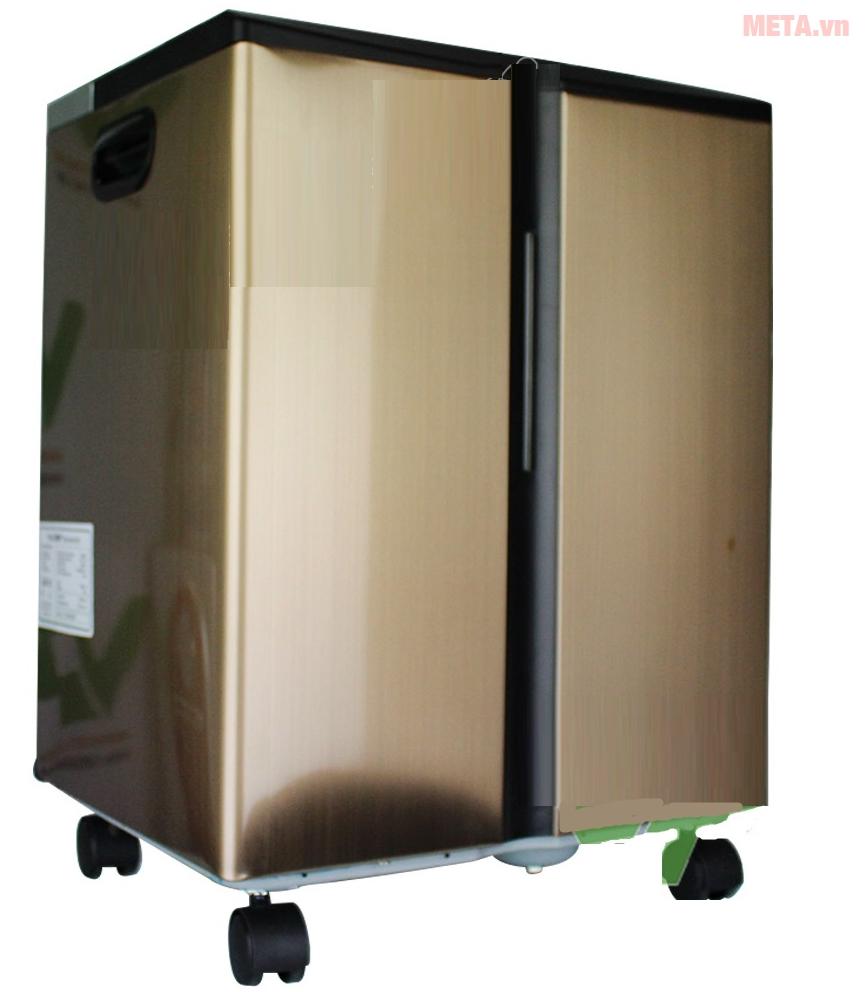 Máy hút ẩm công nghiệp Harison HD-45BE có bánh xe di chuyển để đáp ứng hoạt động cho bất cứ nơi đâu