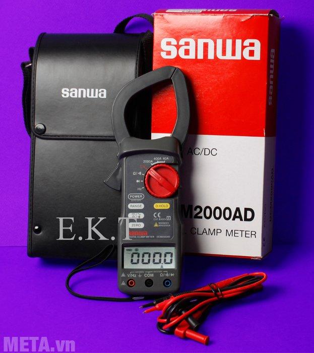 Ampe kìm Sanwa DCM2000AD có màn hình LCD