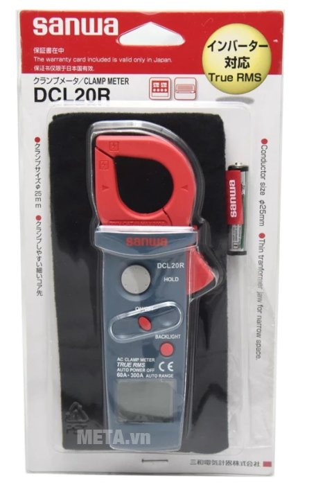 Ampe kìm Sanwa DCL20R có túi đựng bảo quản