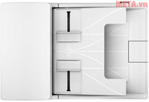 Máy in laser đa chức năng HP M130FN-G3Q59A có khay giấy để được 150 tờ
