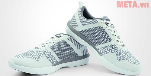 Giày thể thao nữ Nexgen Ergofit 01 màu trắng