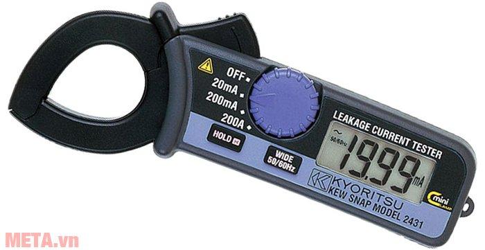 Ampe kìm đo dòng rò Kyoritsu 2431 dùng đo sự rò điện