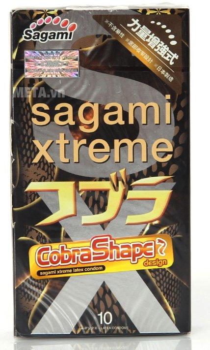 Bao cao su Sagami Xtreme Cobra cho nam giới