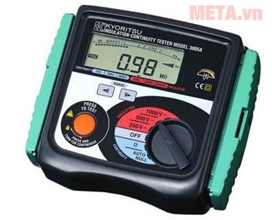 Hình ảnh đồng hồ đo điện trở cách điện Kyoritsu 3005A