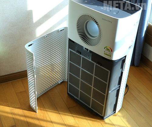 Với 4 màng lọc thông minh, máy đảm bảo không khí trong gia đình bạn được trong lành