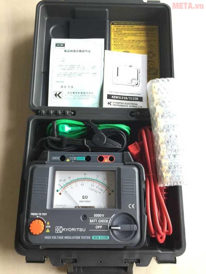 Hình ảnh máy đo điện trở cách điện Kyoritsu 3122B