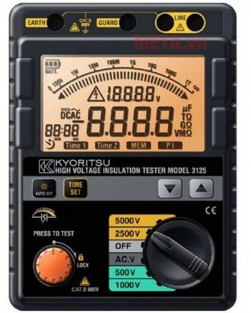 Máy đo điện trở cách điện Kyoritsu 3125