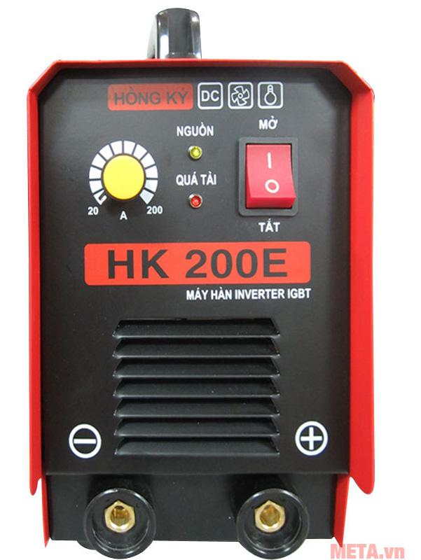 Máy hàn điện tử Hồng Ký HK 200E dùng hàn sắt, nhôm, đồng