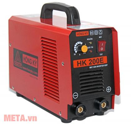 Máy hàn điện tử Hồng Ký HK 200E có dòng hàn 20A - 200A