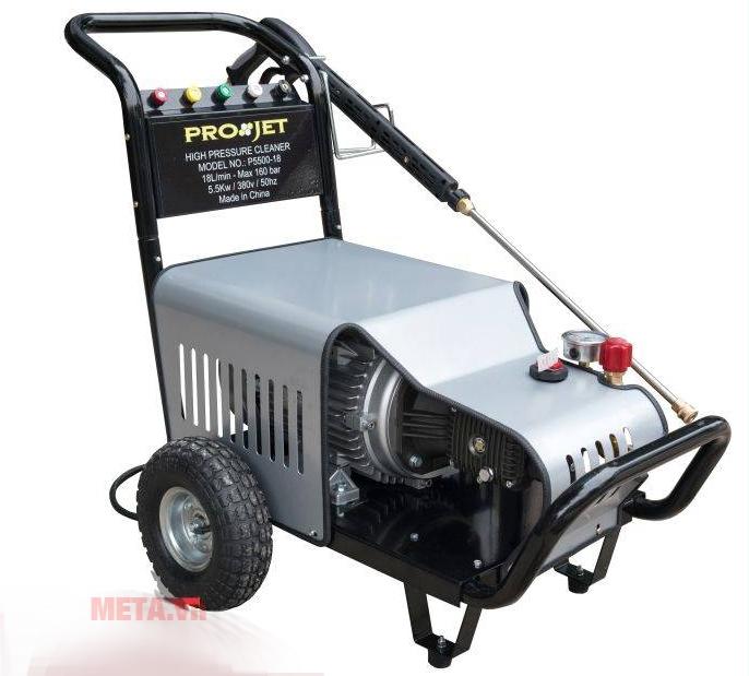 Máy rửa xe cao áp P5500-1 được thiết kế cao cấp an toàn