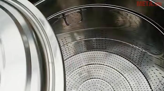 Nồi nấu phở đa năng 70 lít NP70 dễ dàng vệ sinh sau khi sử dụng