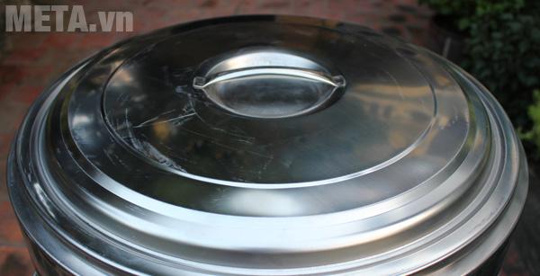 Nồi trần bánh phở 30 lít NP30 thiết kế vung nắp rời