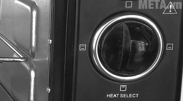 Nút điều khiển chế độ nướng của lò nướng Mishio
