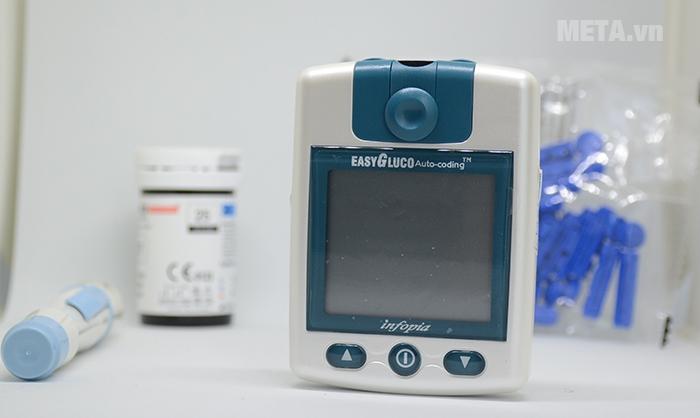 Hộp đựng sản phẩm hình ảnh máy đo đường huyết EasyGluco