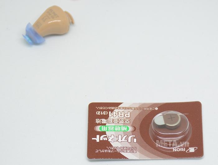 Máy trợ thính kỹ thuật số Rionet HM-06 sử dụng pin PR41