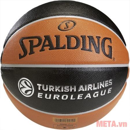 Bóng rổ Spalding TF-500 Euro (74-539z) cầm êm tay