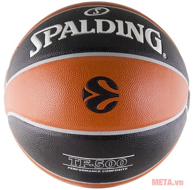 Bóng rổ Spalding TF-500 Euro (74-539z) có độ bền cao, khả năng chịu lực tốt