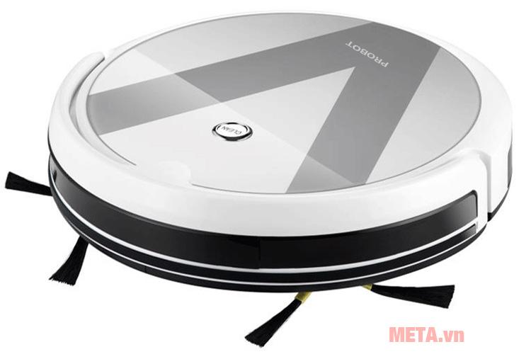 Robot hút bụi lau nhà thông minh Probot Nelson A3 có thiết kế màu bạc sang trọng