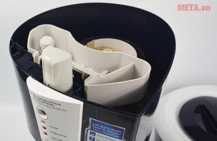 Máy lọc nước Pureit Unilever Excella 9 lít sử dụng lõi lọc cao cấp