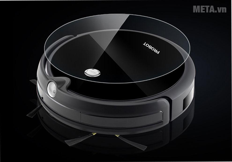 Robot hút bụi lau nhà tích hợp Wifi camera HD Probot Nelson A3S có thiết kế tiện lợi