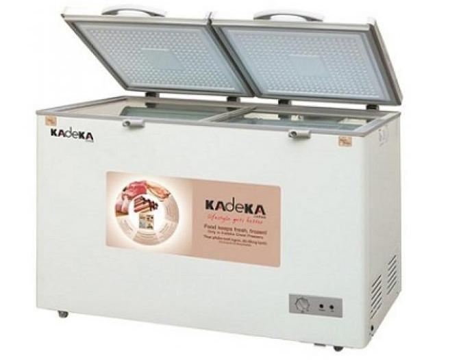 Tủ đông Kadeka KCFV-850SA có 2 ngăn lạnh và mát tiện lợi