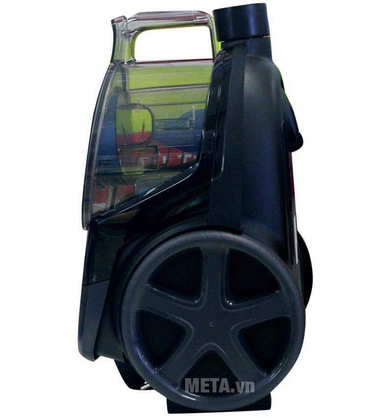Máy hút bụi Philips FC9350 được thiết kế với bánh xe lớn dễ dàng di chuyển