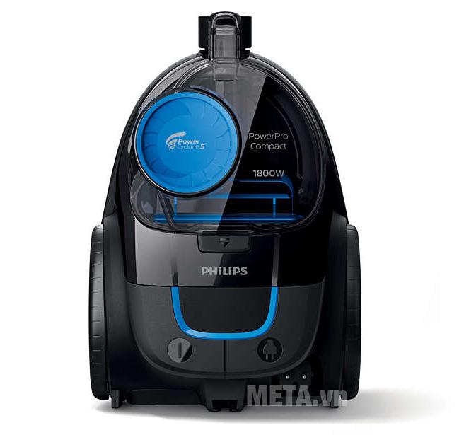 Máy hút bụi Philips FC9350 sử dụng bộ lọc HEPA giúp hút sạch bụi bẩn và tác nhân gây dị ứng