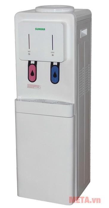 Cây nước nóng lạnh Sumika SK 883 có khay chứa nước thải